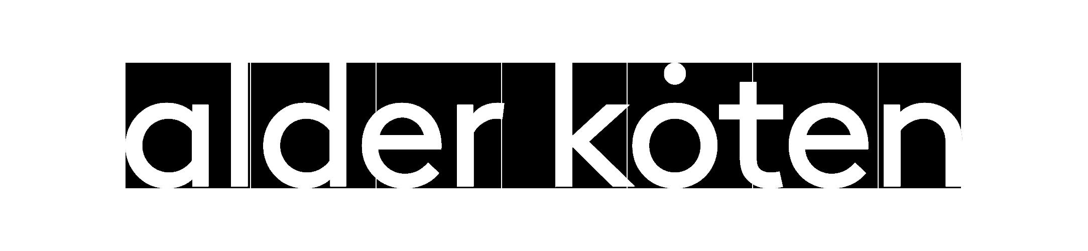 AlderKoten Logo White.fw